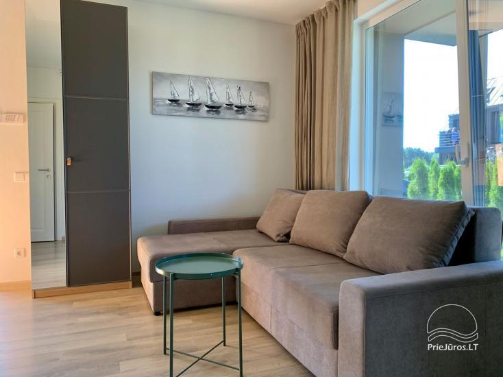 Apartment Vaivorykstes namai in Palanga - 5