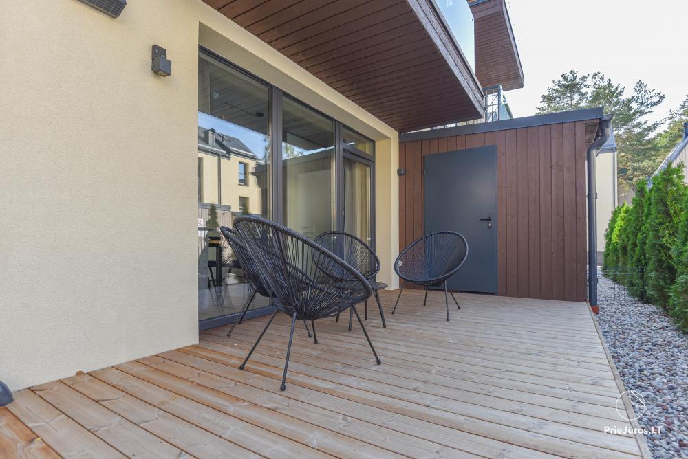 Neue Wohnung mit beheiztem Pool inmitten von Pinienwäldern - 16