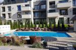 Palangos centre Malūno vilose, dviejų kambarių apartamentas