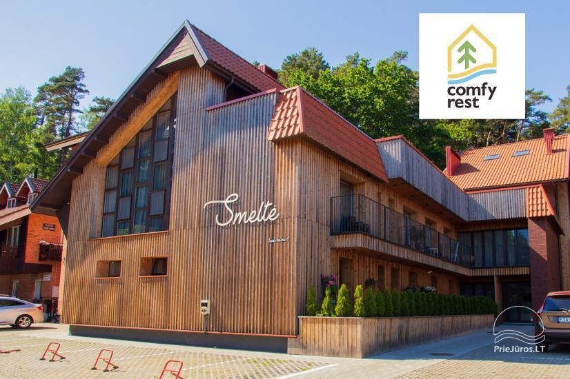 Comfy Rest apartments in Juodkrante, in Curonian spit - 2