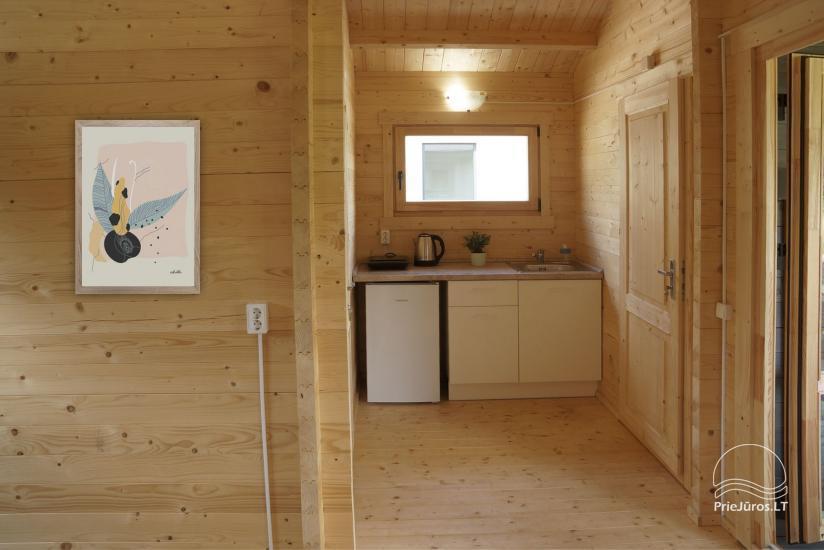 Jūros terasų dviejų kambarių nameliai su patogumais Šventojoje - 6