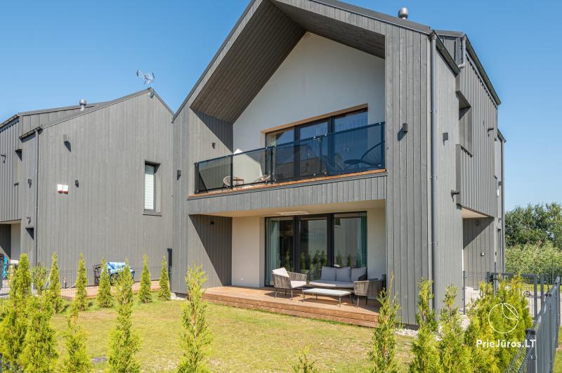 Žalia kopa - apartamentai nuomai Palangoje, Kunigiškiuose
