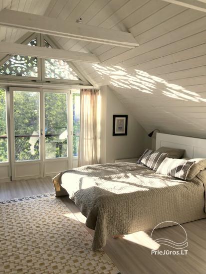 SOLEMAR PREILA dviejų kambarių apartamentai Preilos krante su vaizdu į marias