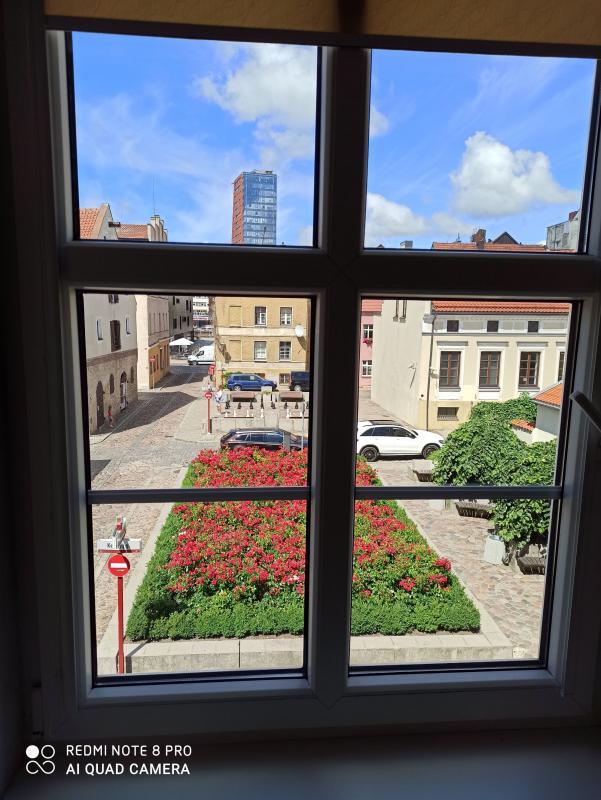 Klaipėdos Senamiestyje išnuomojamas 2-jų kambarių butas, prie Teatro aikštės