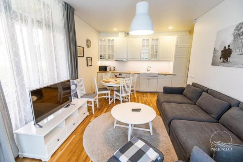 Exclusive two rooms apartment in prestigious area