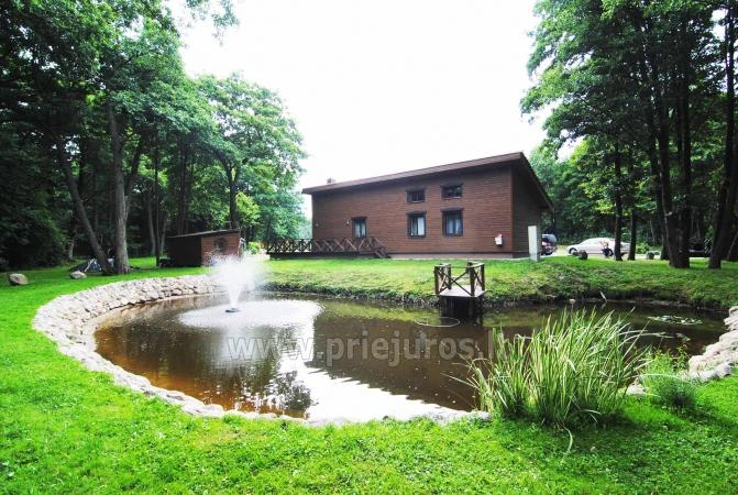Rooms and holiday cottage in Palanga. Wide enclosed territory, childrens playground - 1