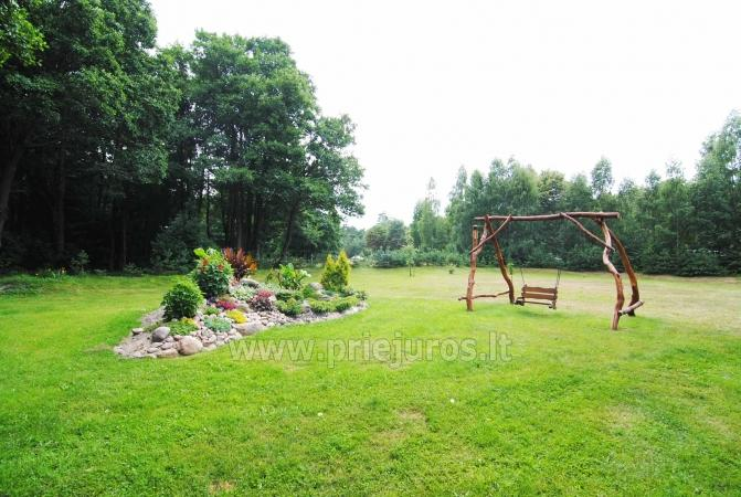 Rooms and holiday cottage in Palanga. Wide enclosed territory, childrens playground - 10
