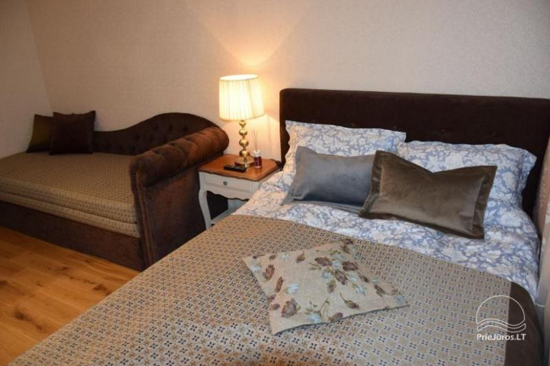 Newly furnished flat in center of Nida NEAR THE PINEWOOD on the second floor with balcony