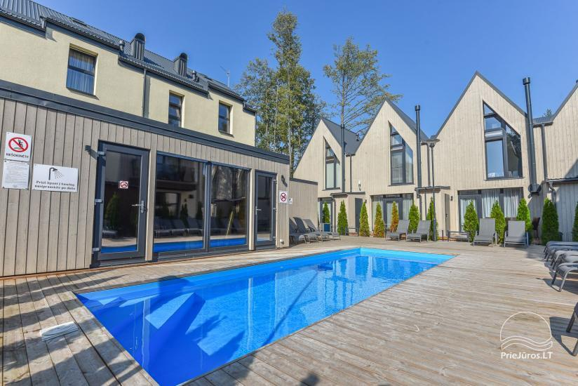 Cottage with heated pool for rent in Palanga, in Kunigiskiai - 15
