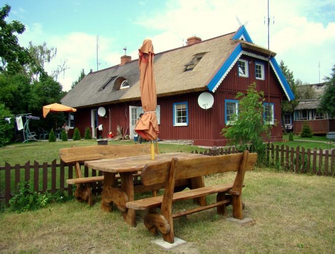 Butas ir dvivietis kambarys Preiloje prie Kuršių marių su vaizdu į marias