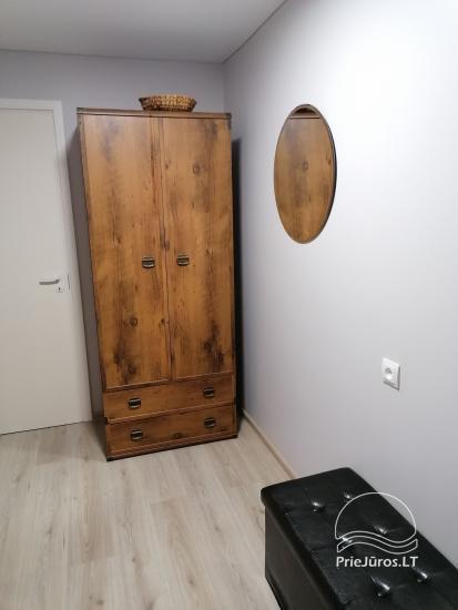 Tiek izīrēts divu istabu dzīvoklis Palangā, blakus priežu mežam - 11
