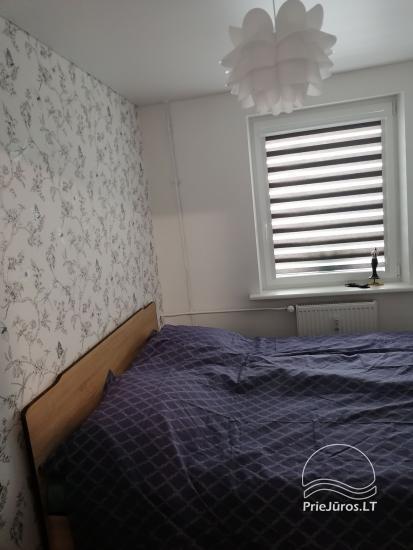 Tiek izīrēts divu istabu dzīvoklis Palangā, blakus priežu mežam - 6