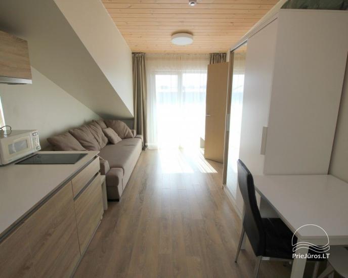 Naujos statybos butai su balkonu Palangos centre - 1