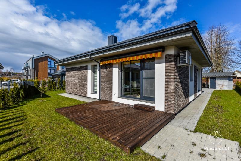Naujo namo nuoma Palangoje – Kunigiškiuose su 7 arų kiemu