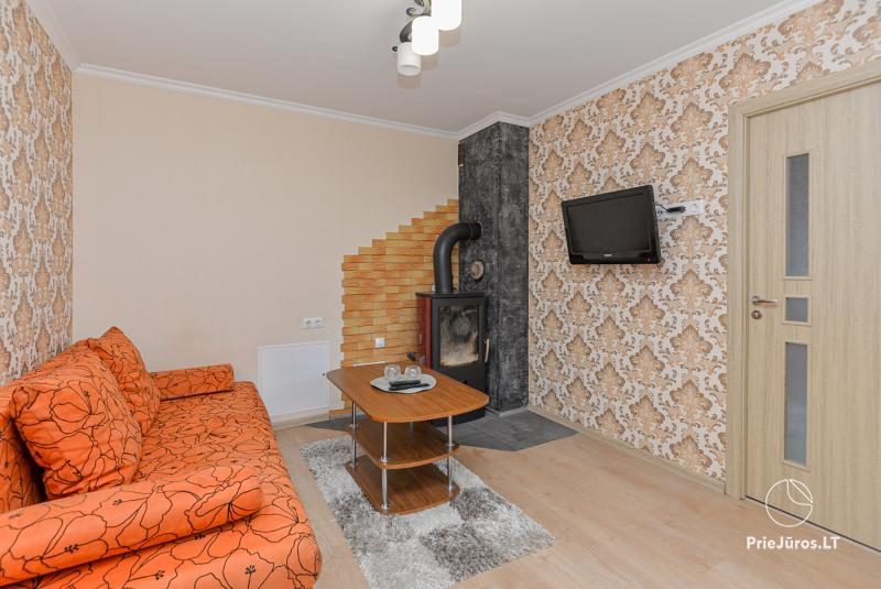 Three rooms apartment for rent in Curonian Spit, with a private yard!