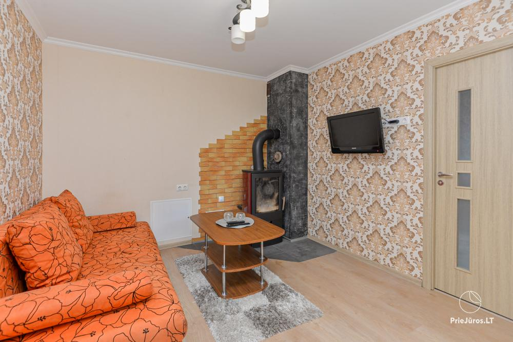 Three rooms apartment for rent in Curonian Spit, with a private yard! - 1