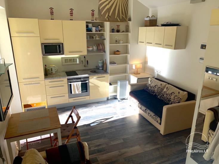 Apartamentų nuoma 50 žingsnių iki jūros - 5