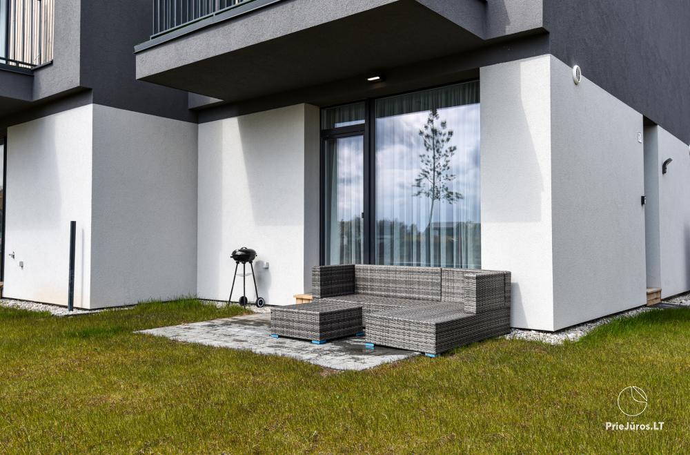 Ritos Palanga - namelių, apartamentų nuoma Jūsų poilsiui Palangoje, Kunigiškiuose, arti jūros, komplekse Mano jūra! - 3