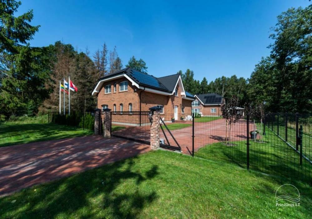 Villa Aido - tiek izīrēti plaši dzīvokļi Palangā, Kunigiškiai. Līdz jūrai tikai 200 metru! - 1