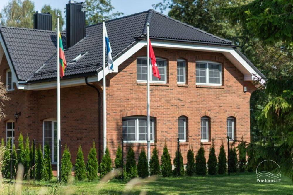 Villa Aido - tiek izīrēti plaši dzīvokļi Palangā, Kunigiškiai. Līdz jūrai tikai 200 metru! - 5
