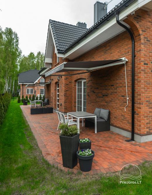 Villa Aido - tiek izīrēti plaši dzīvokļi Palangā, Kunigiškiai. Līdz jūrai tikai 200 metru! - 8