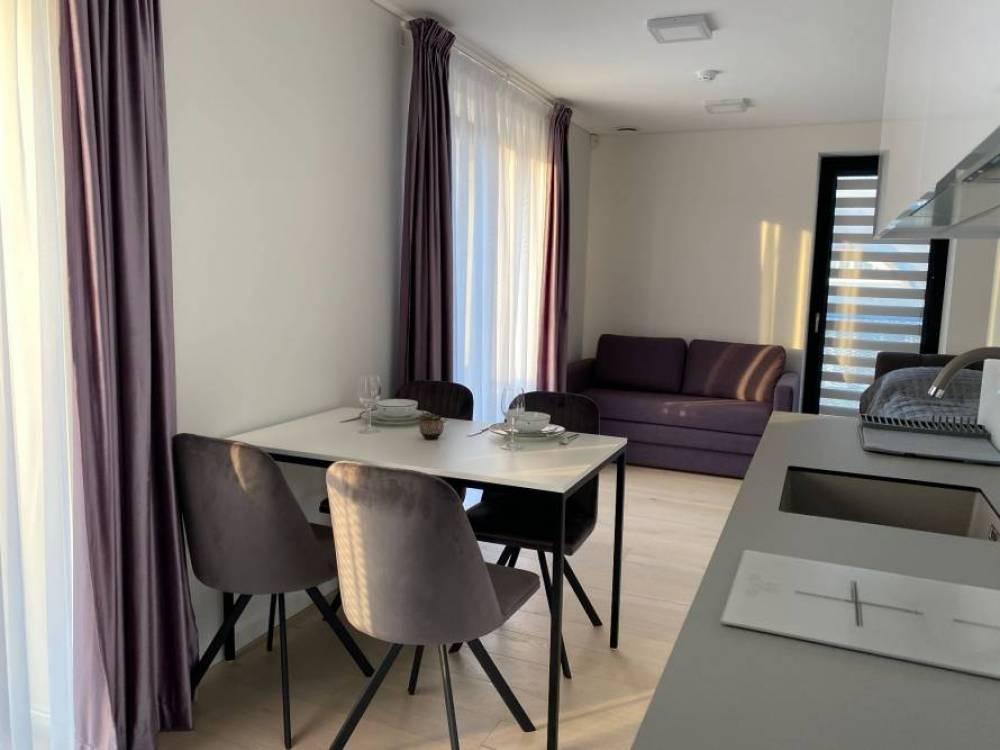 Ieva Apartments in einem neu erbauten Viertel in Pervalka für 2-4 Personen. - 1