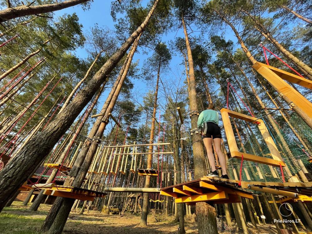Nuotykių parkas Palangoje Miškas - 4