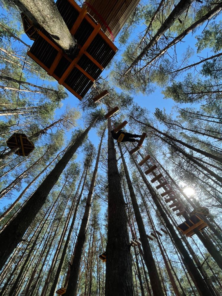 Nuotykių parkas Palangoje Miškas - 10