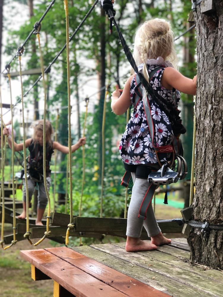 Nuotykių parkas Palangoje Miškas - 9