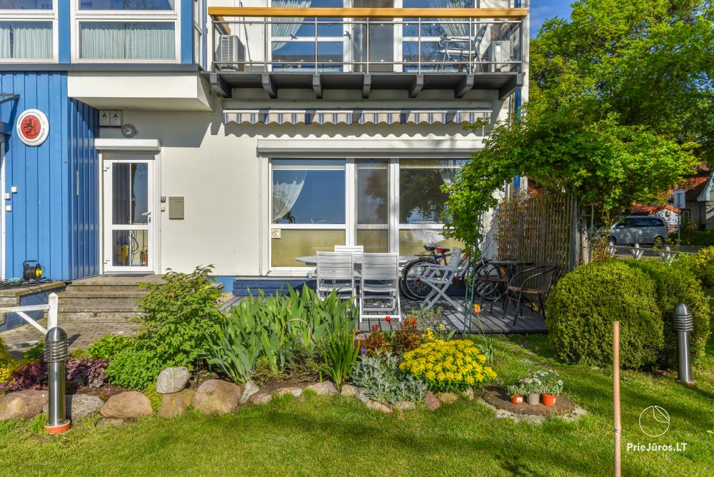 Consul corner - apartment for rent in Juodkrante with a view of the Curonian lagoon, sauna, terrace in a rose garden - 1