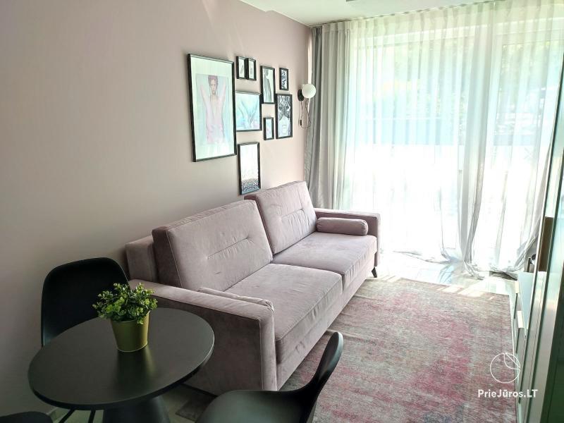 Malūno Vilos 1 kambario apartamentai su baseinu P.Nr.19
