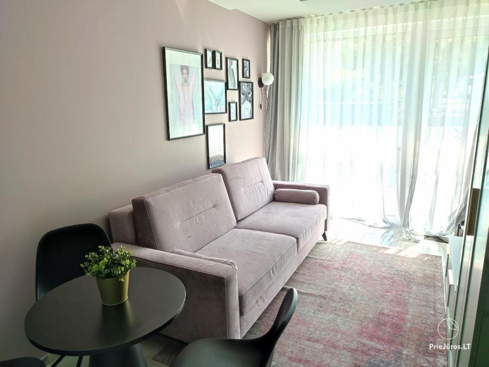 Malūno Vilos 1 kambario apartamentai su baseinu P.Nr.19 - 1