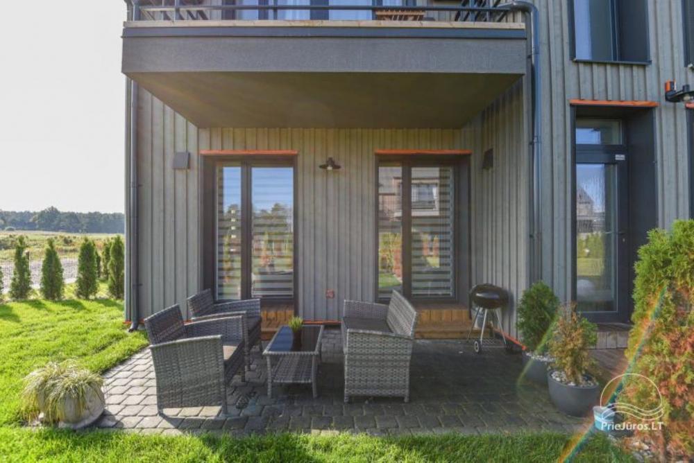 Studijos tipo butas su terasa ir sezono metu veikiančiu baseinu - 4