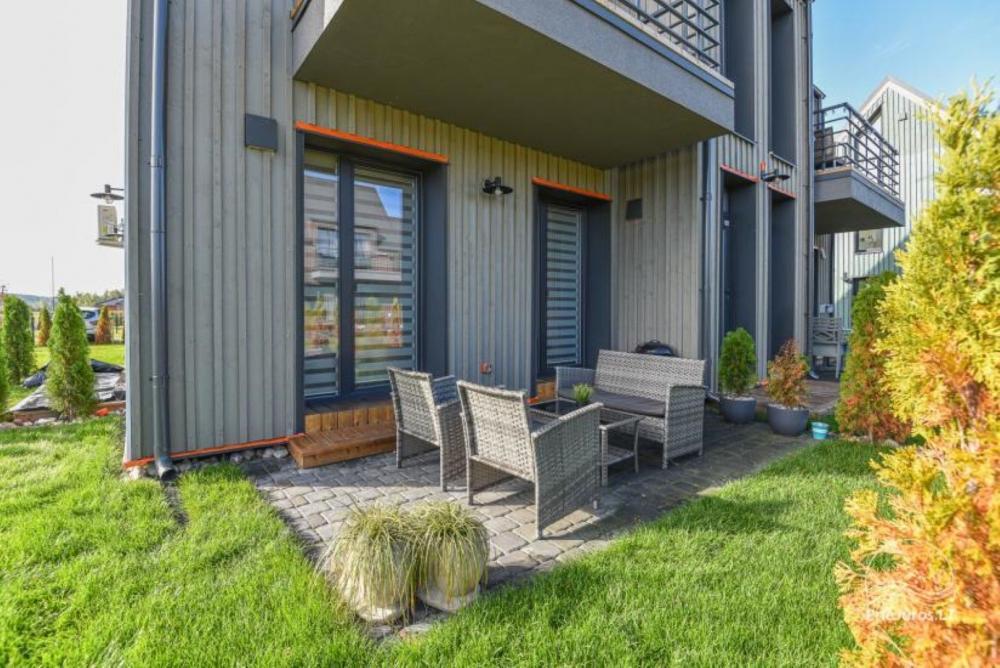Studijos tipo butas su terasa ir sezono metu veikiančiu baseinu - 9