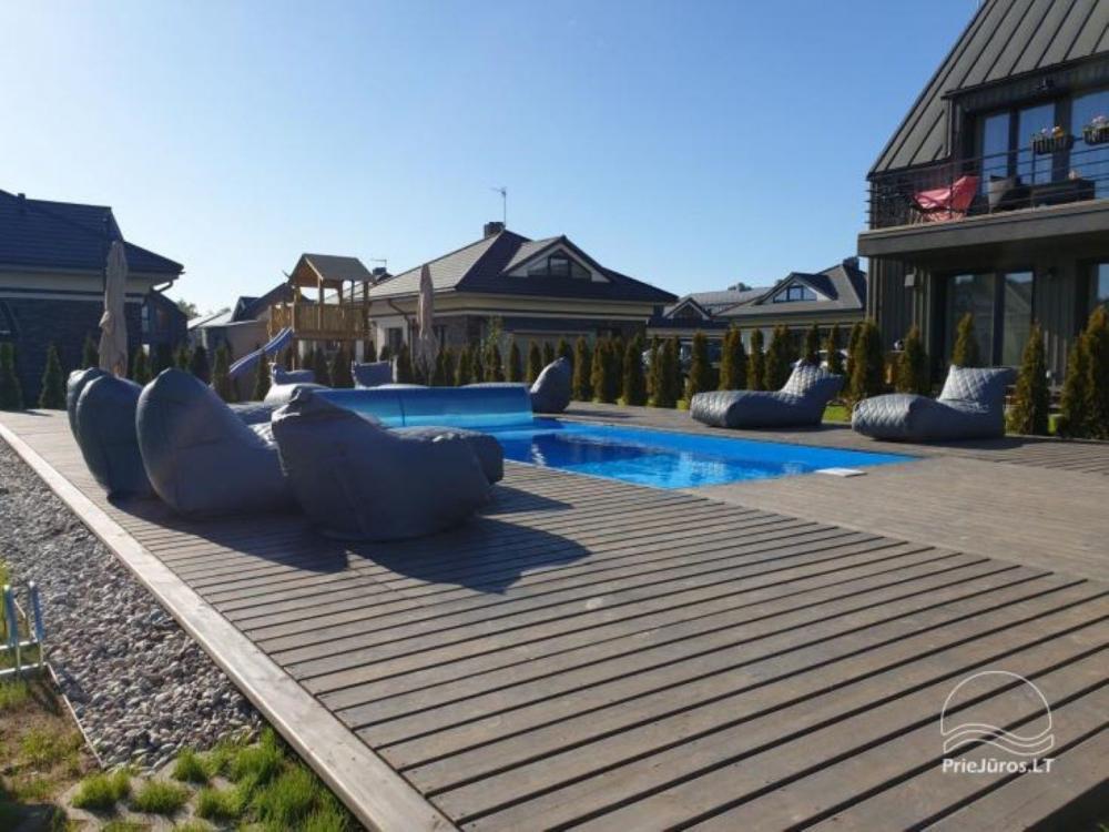 Studijos tipo butas su terasa ir sezono metu veikiančiu baseinu - 10