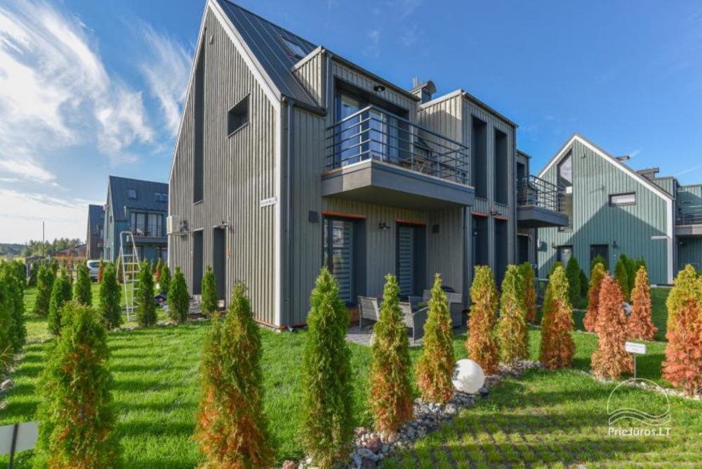 Studijos tipo butas su terasa ir sezono metu veikiančiu baseinu - 1