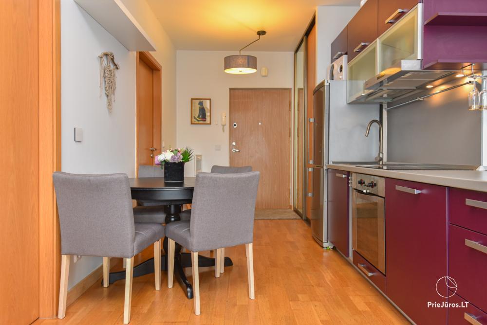 Jaukus, patogus ilsėtis, šiuolaikiškai įrengtas butas Palangoje, Vanagupes g. - 9