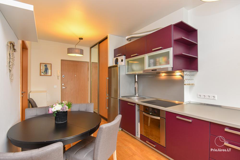 Jaukus, patogus ilsėtis, šiuolaikiškai įrengtas butas Palangoje, Vanagupes g. - 8