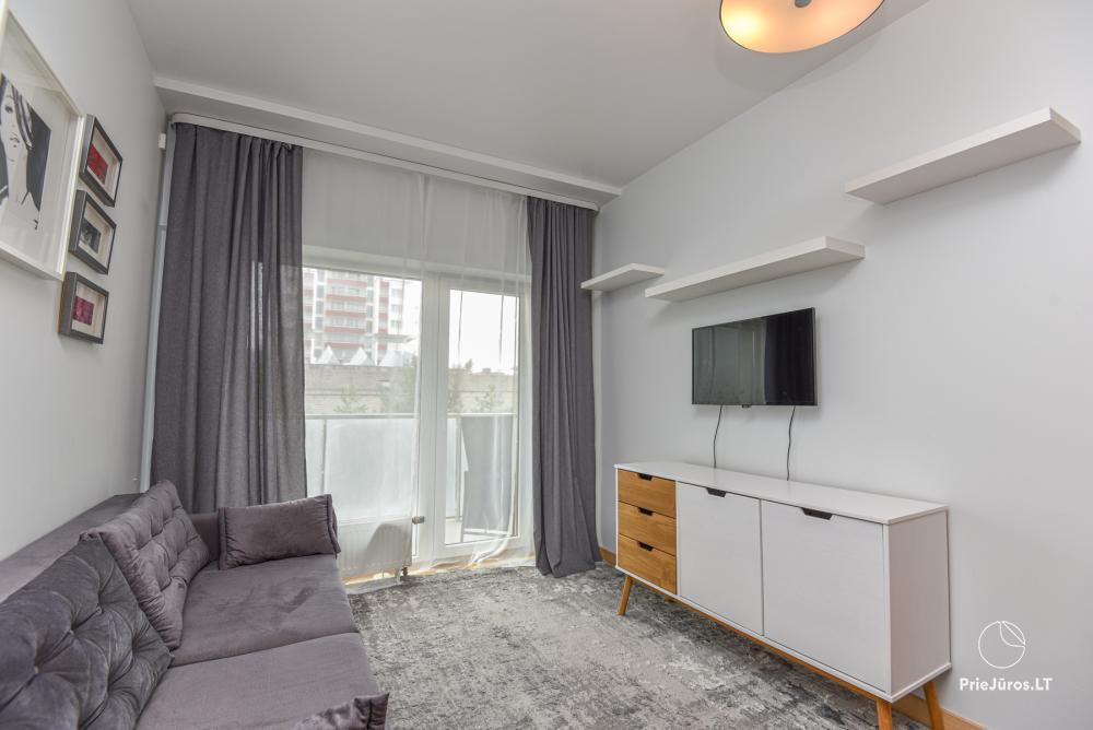 Jaukus, patogus ilsėtis, šiuolaikiškai įrengtas butas Palangoje, Vanagupes g. - 4