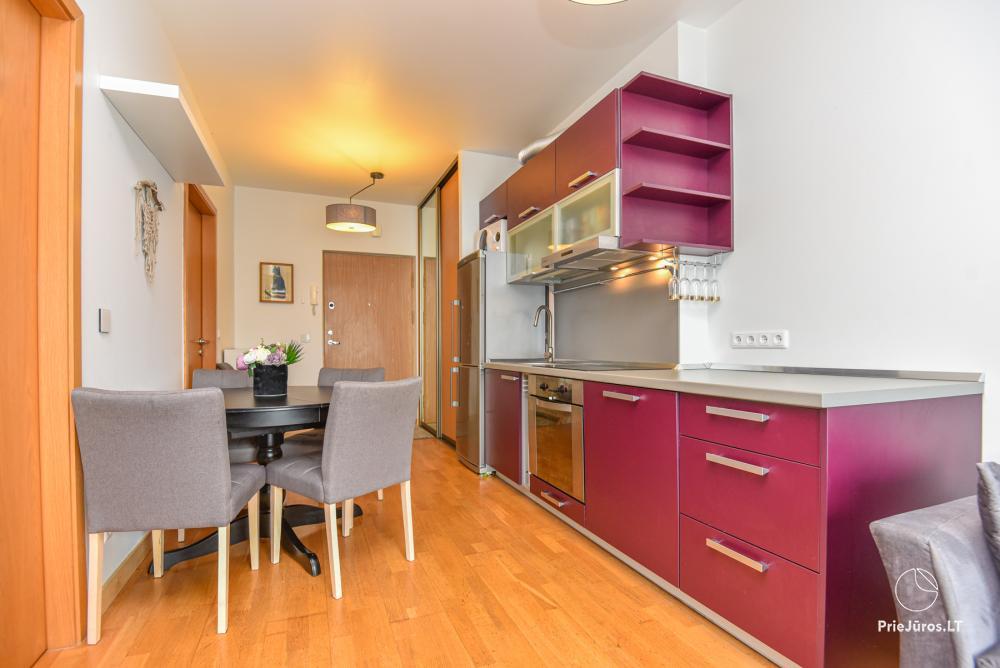 Jaukus, patogus ilsėtis, šiuolaikiškai įrengtas butas Palangoje, Vanagupes g. - 14