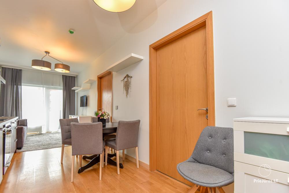 Jaukus, patogus ilsėtis, šiuolaikiškai įrengtas butas Palangoje, Vanagupes g. - 12
