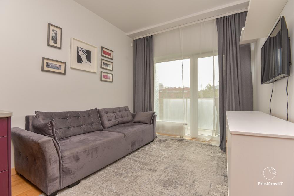 Jaukus, patogus ilsėtis, šiuolaikiškai įrengtas butas Palangoje, Vanagupes g. - 11
