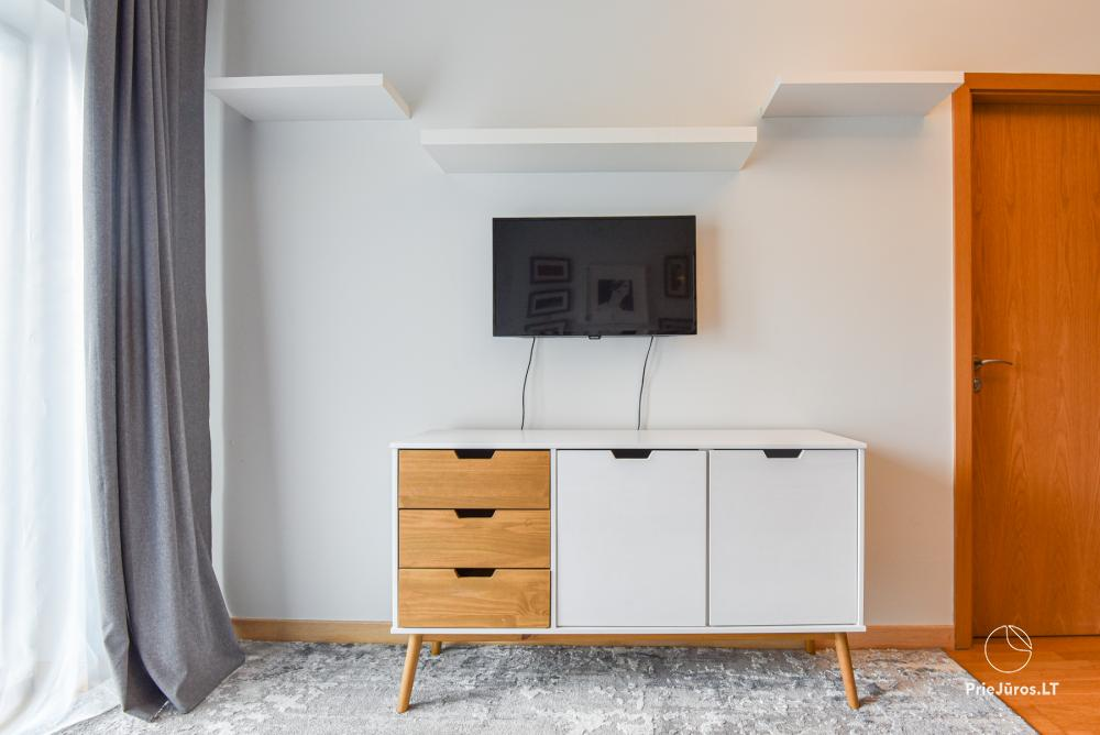 Jaukus, patogus ilsėtis, šiuolaikiškai įrengtas butas Palangoje, Vanagupes g. - 21