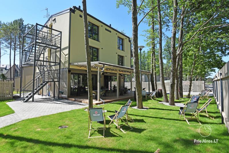Čiki Puki Purslai apartamentų nuoma su šildomu lauko baseinu Kunigiškiuose