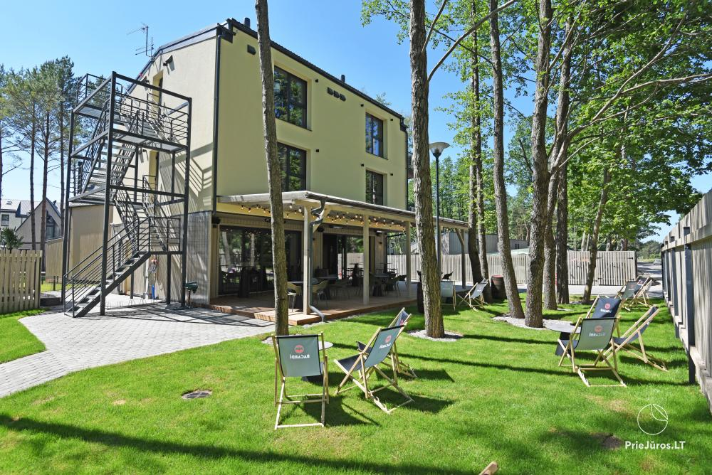 Ciki Puki Purslai apartments for rent with heated pool in Palanga, in Kunigiskiai - 1