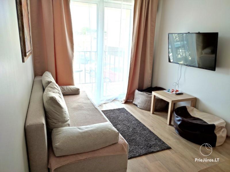 Malūno Vilos 2 kambarių apartamentai su baseinu P.Nr.13