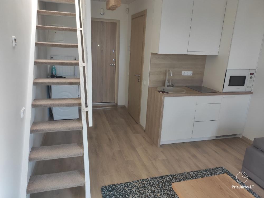 Malūno Vilos 2 kambarių apartamentai (1 kambarys antresolėje) su baseinu P.Nr.14 - 1