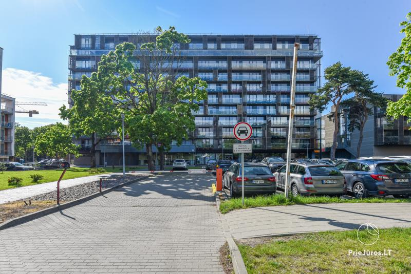 Sunny studio type apartment in the center of Palanga