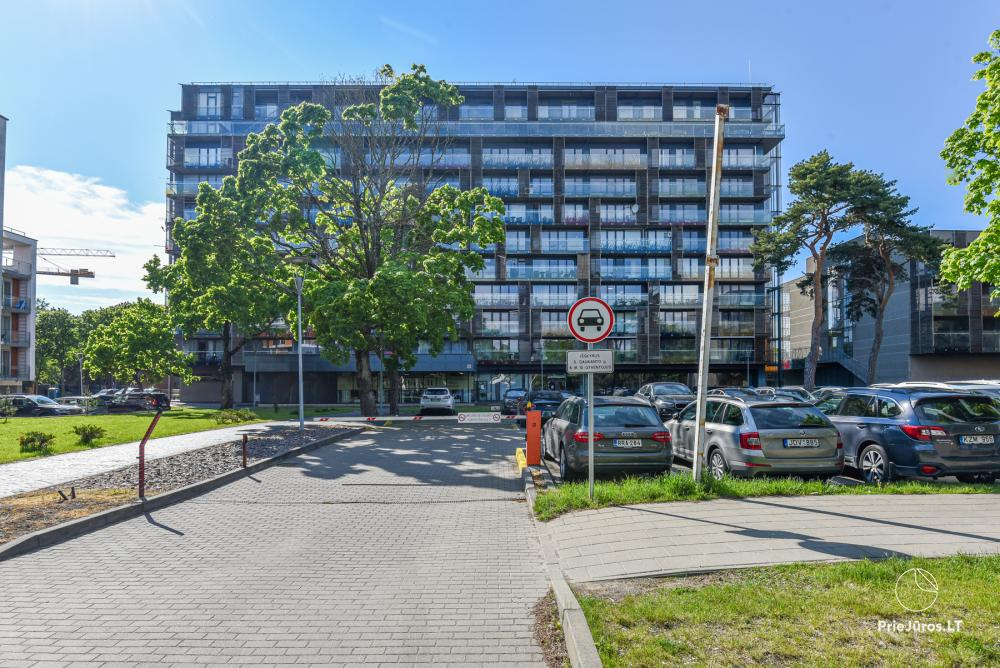Sunny studio type apartment in the center of Palanga - 1
