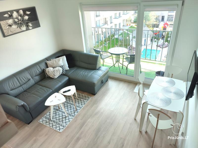 Malūno Vilos 2 kambarių apartamentai su baseinu P.Nr.18